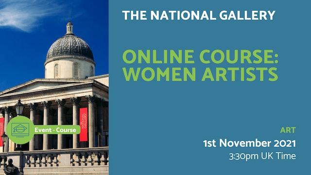 21.11.01 (Mon Nov 1st) | Online Course: Women artists
