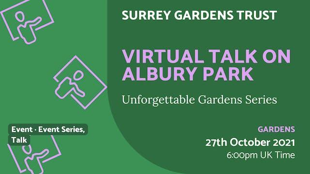 21.10.27 (Wed Oct 27th) | Virtual Tal...