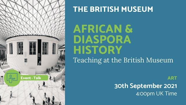 21.09.30 (Thu Sep 30th) | African & D...