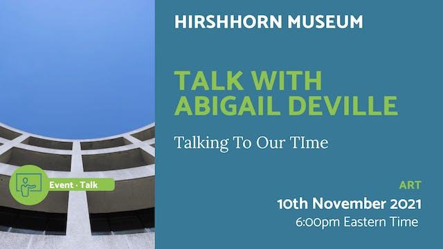 21.11.10 (Wed Nov 10th) | Talk with A...