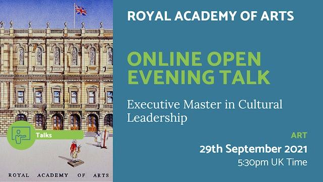 21.09.29 (Wed Sep 29th) | Online Open Evening Talk