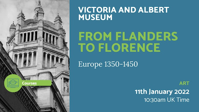22.01.11 (Tue Jan 11th) | From Flanders to Florence