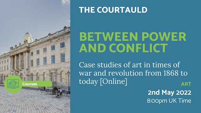 22.05.02 (Mon May 2nd) | Between Power and Conflict