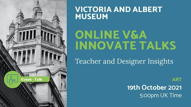 21.10.19 (Tue Oct 19th) | Online V&A ...