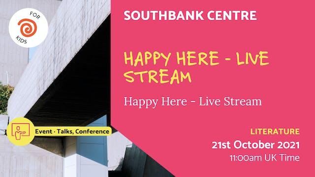 21.10.21 (Thu Oct 21st) | Happy Here ...