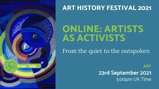 21.09.23 (Thu Sep 23rd)   Online: Art...