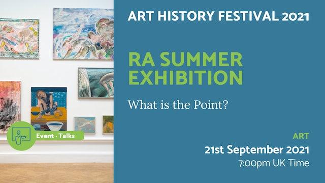 21.09.21 (Tue Sep 21st)   RA Summer Exhibition