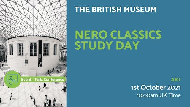 21.10.01 (Fri Oct 1st) | Nero Classics Study Day