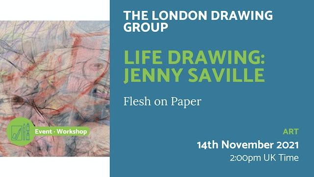 21.11.14 (Sun Nov 14th) | Life Drawing: Jenny Saville