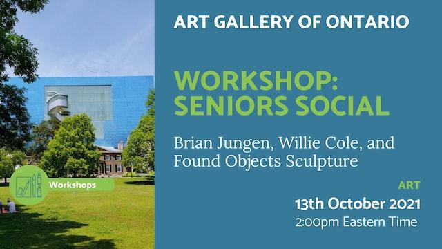 21.10.13 (Wed Oct 13th)   Workshop: Seniors Social