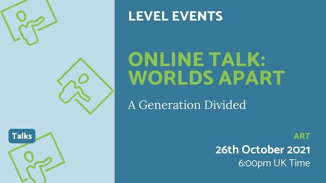 21.10.26 (Tue Oct 26th) | Online Talk...