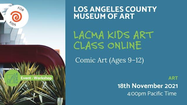 21.11.18 (Thu Nov 18th)   LACMA Kids ...