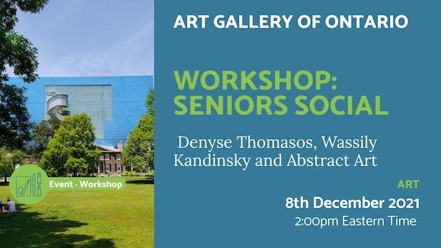 21.12.08 (Wed Dec 8th)   Workshop: Seniors Social