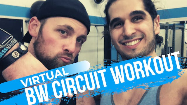 LIVE 60 Minute Bodyweight Workout w/ ...