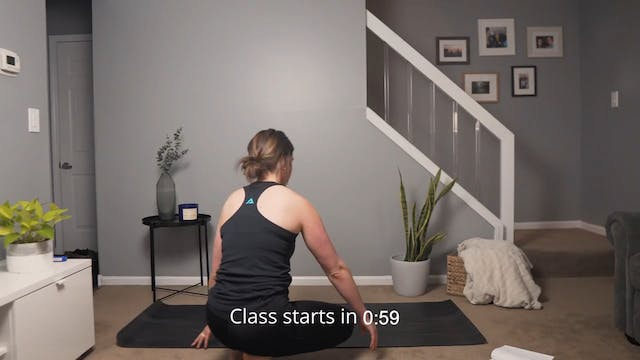 30 Minute Restorative Yoga with Eileen