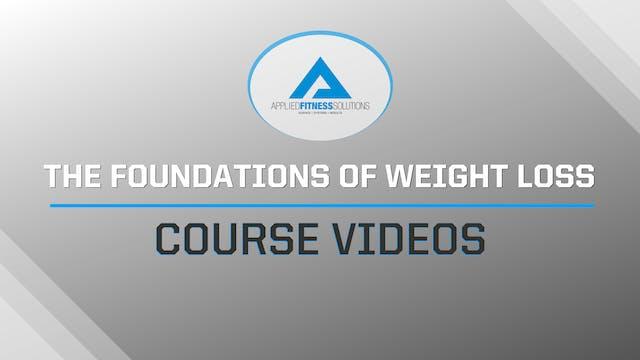 Module 1, Video 1- Why Diets Fail