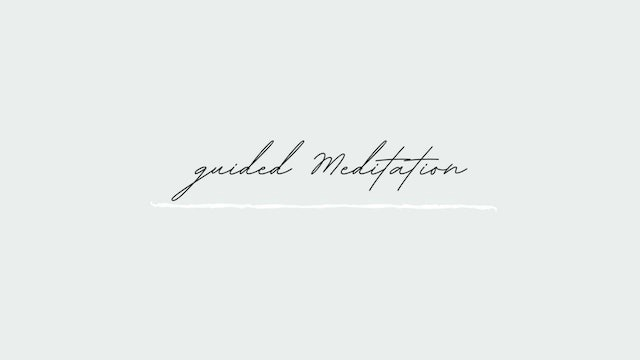 Jan 18th Guided Meditation with Eileen