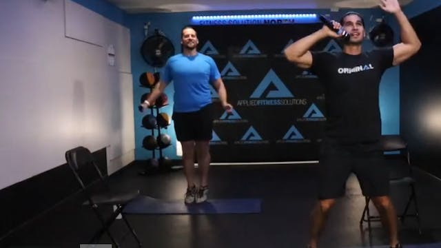 Chris & Kemper 60 Minute BW Workout!