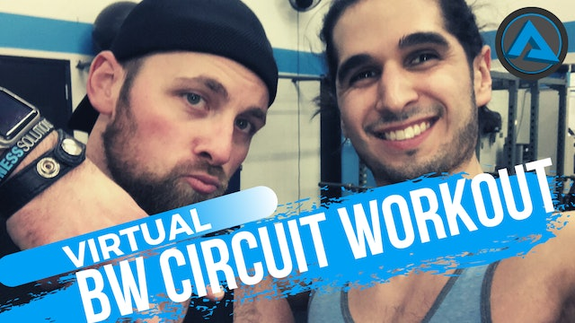 60 Minute LIVE BW Workout w/ Chris & Kemper