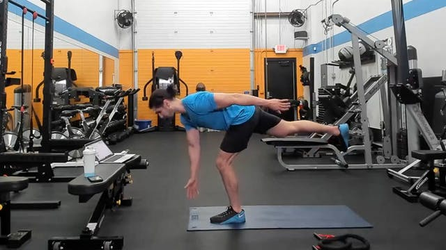 60 Min LIVE Circuit Workout w/ Kemper...