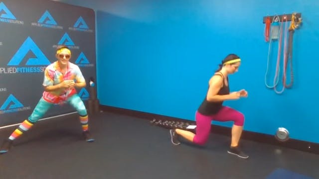 Katelyn and Brook Body Weight Circuit