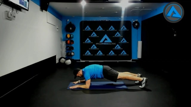 Modified  plank and plank
