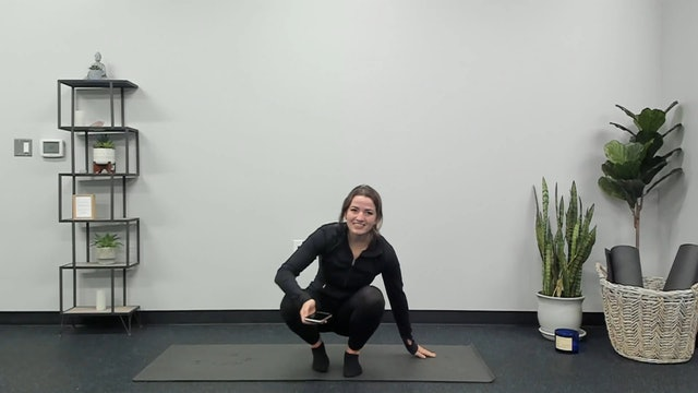 Jan 5th Restorative Flow (upper body focus) with Eileen