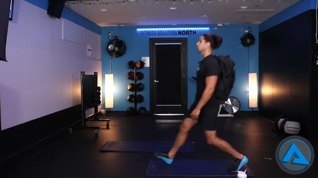 30 Minute Backpack Workout w- Kemper