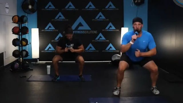 60 Minute BW Workout w- Chris & Kemper