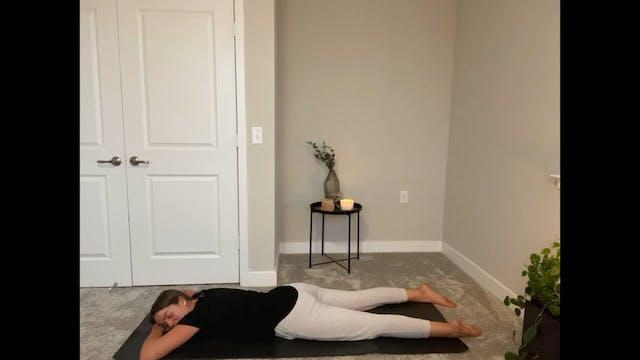 Dec 1st Restorative Yoga with Eileen