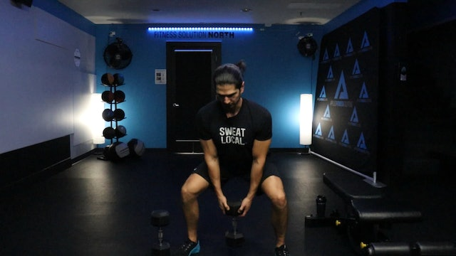 30 Minute Lower Body DB Workout