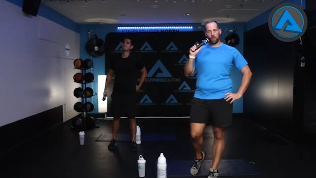 60 Minute Home Workout w- Chris & Kemper