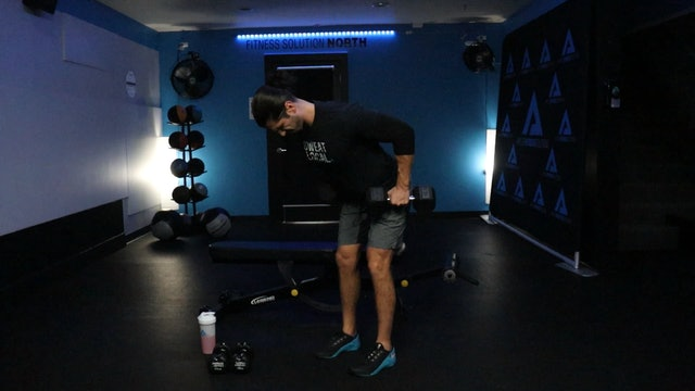 45 Minute Upper Body Superset Workout w/ Kemper 11.27.20