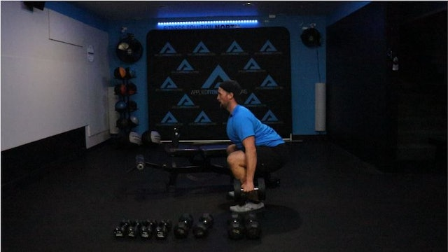 11/20 60 Minute Dumbbell Strength Workout With Chris