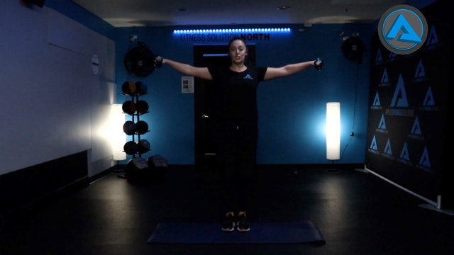 Low Impact Dumbbell Circuit with Audrey
