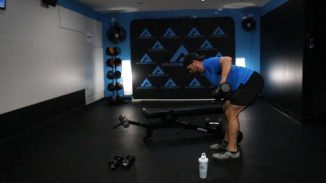 11/6/20 60 Minute Dumbbell Strength W...