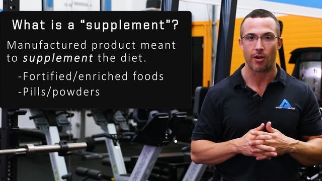 Are Supplements Safe and Effective?
