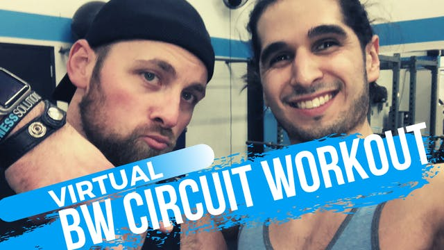 LIVE 60 min Bodyweight Workout w/ Chr...