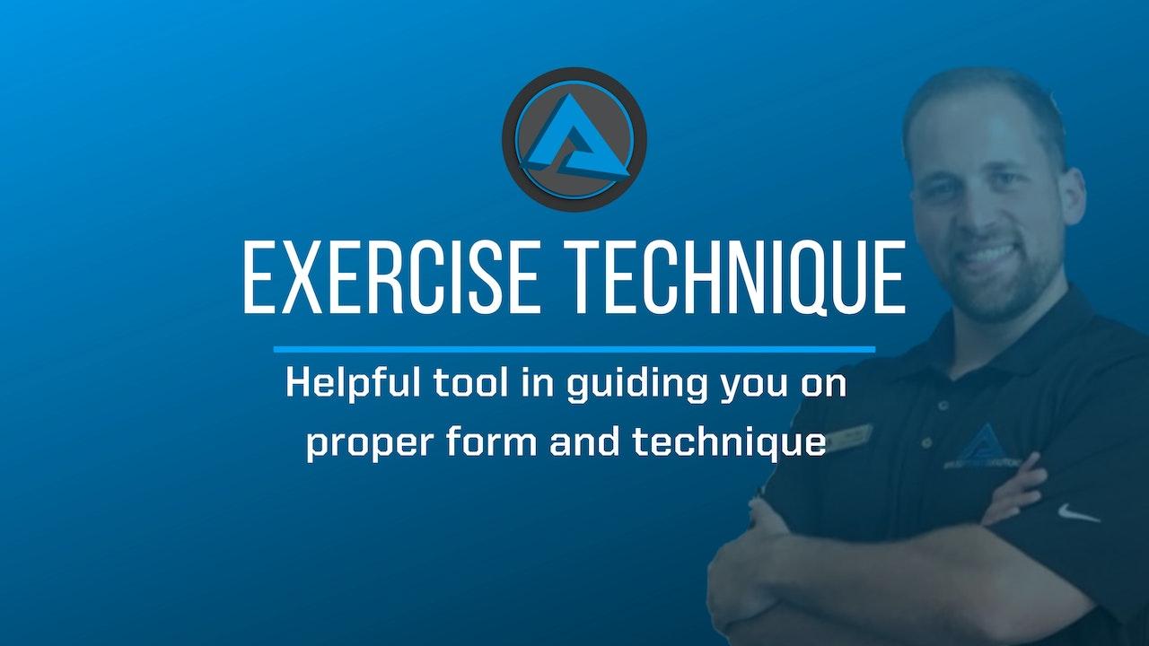 Exercise Technique Videos