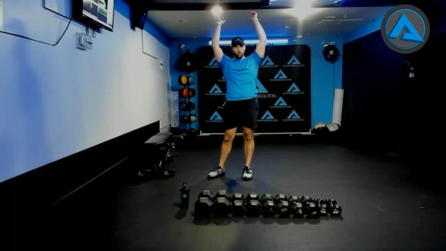 2/11/21 DB power/strength workout w/C...