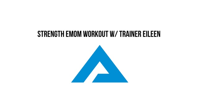 Nov 29th 45 Min DB EMOM Workout with Eileen!