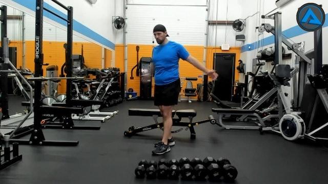 4/23/21 60 minute DB Strength W Chris