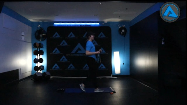 Jan. 3rd 30 Minute Body Weight and Dumbbell Circuit w/ Claire