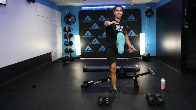 45 Minute Full Body Resistance Training Workout w/ Kemper