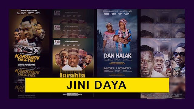 Kannywood Movie | Jini Daya