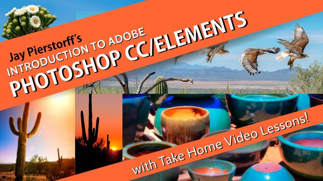 Intro to Adobe Photoshop CC (Creative Cloud Version)