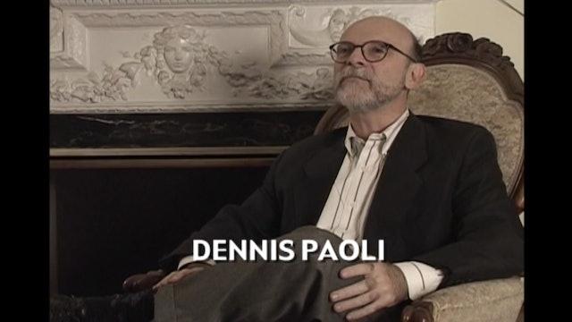 Writer Dennis Paoli