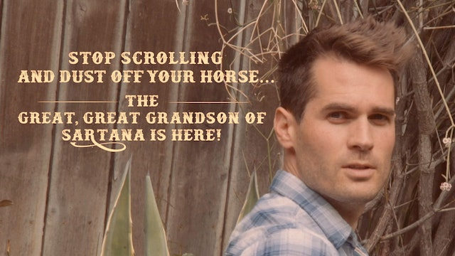 Stop Scrolling & Dust off Your Horse the Great Great Grandson of Sartana is Here