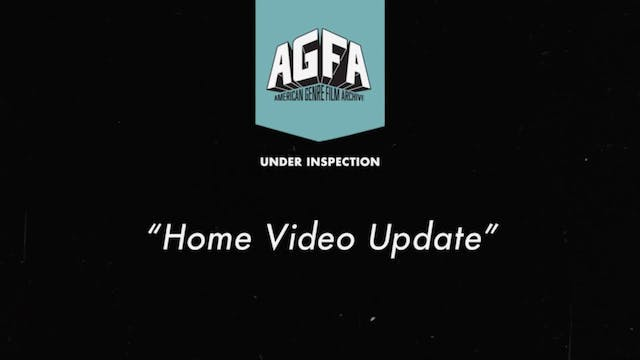 "Under Inspection Series - ""Home Video..."