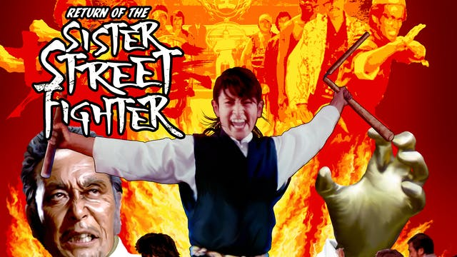 Return of the Sister Street Fighter